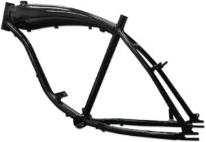 BBR Tuning 26 Inch Motorized Bike Frame W/ 3.75 Gas Tank- Black