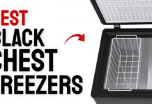 best black chest freezers